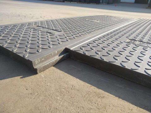 扣槽式电缆沟盖板